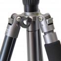 Trípode de aluminio TSK 408 negro 4 secciones