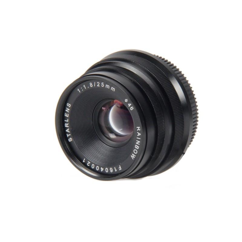 Objectif 25 mm F1.8