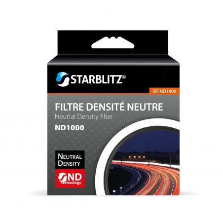 Filtre ND 1000 Densité Neutre Fixe Monture fine