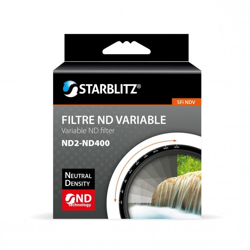 Filtre à Densité Neutre Variable ND2 à ND400