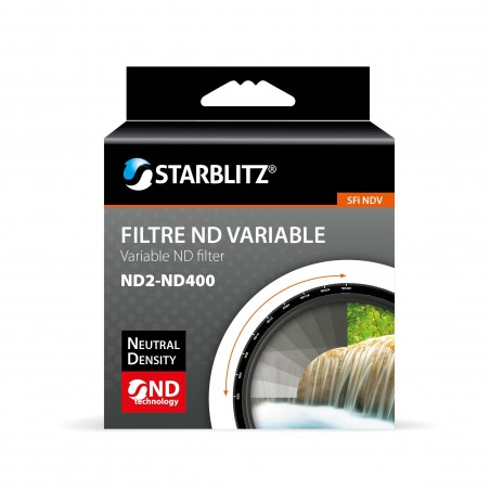 Graduated Variable Neutral Density Filter ND2 to ND400