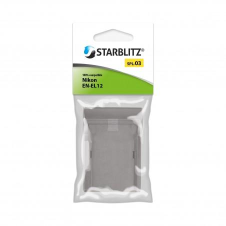 Plaque de charge pour batterie Starblitz SB-EL12 / Nikon EN-EL12