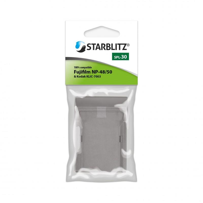 Plaque de charge pour batterie Starblitz SB-FJ50 / Fujifilm NP-50