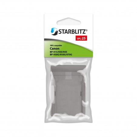 PLACA para Starblitz SB-970G & SB-E5 / Canon BP-970G et LP-E5