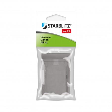 Plaque de charge pour batterie Starblitz SB-4LH / Canon NB-4LH
