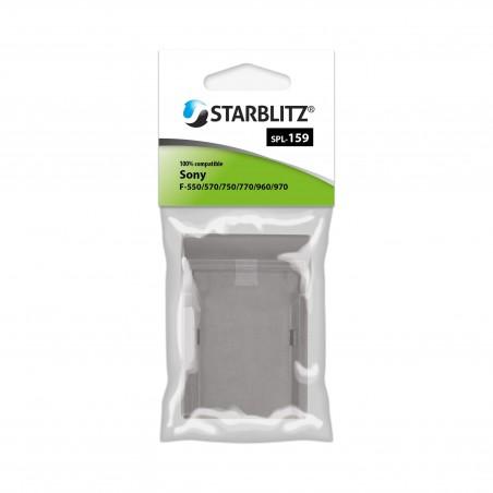 PLATE for Starblitz SB-F550 & SB-F9XX / Sony NP-F530/F550/F570 & NP-F930/F950/F970