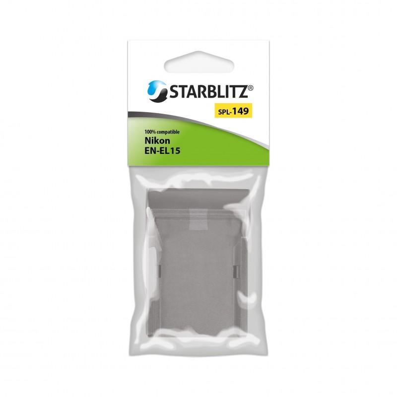 Plaque de charge pour batterie Starblitz SB-EL15 / Nikon EN-EL15