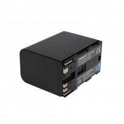 Bateria recarregável de iões de lítio compatível com Canon BP-970G 7.4v 7800mAh