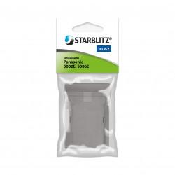 Plaque de charge Starblitz pour batterie SB-006 / Panasonic CGA-S006E/DMW-BMA7