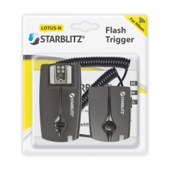 Flash trigger for Nikon DSLR cameras