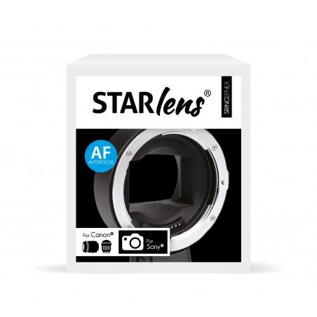 Anillo adaptador con enfoque para Canon lentes y camaras Sony