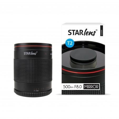 Objectif catadioptrique monture T 500mm F8.0 Starlens SL500F8