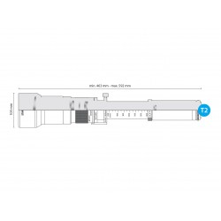 Telezoom 650-1300mm F8-16 Monture T2