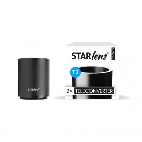 Starlens Tele conversor 2x montagem T2