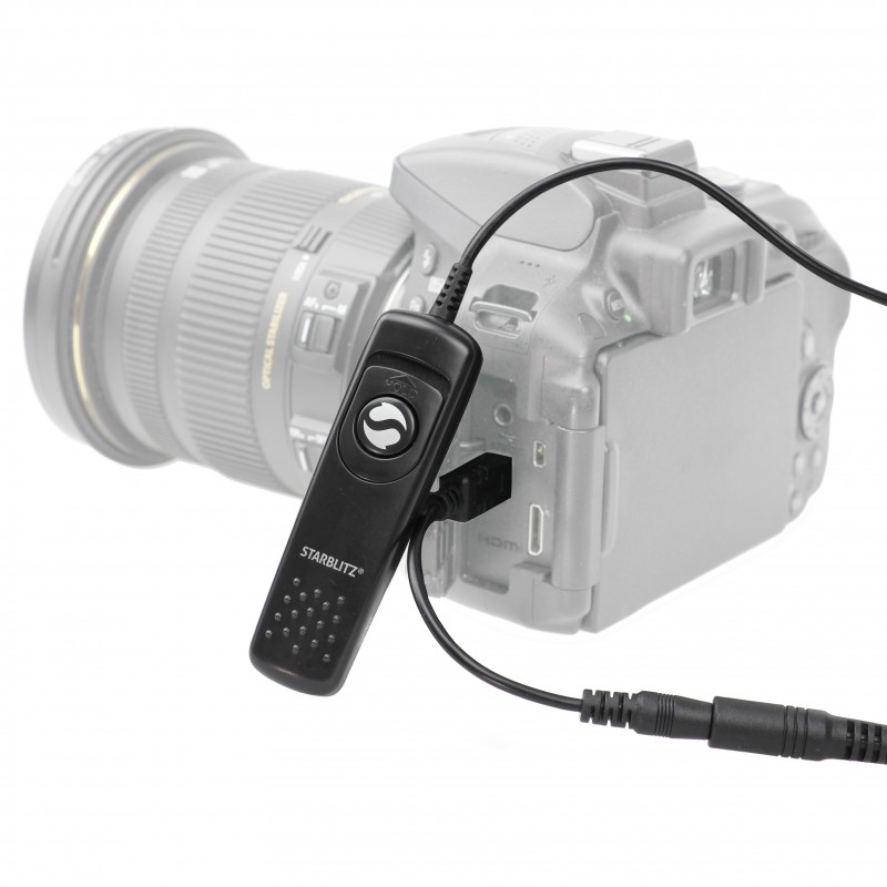 Disparador remoto Mecano para cámaras SLR Canon y Nikon