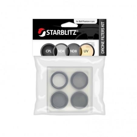 Pack de 4 filtres pour drone Dji Inspire 2