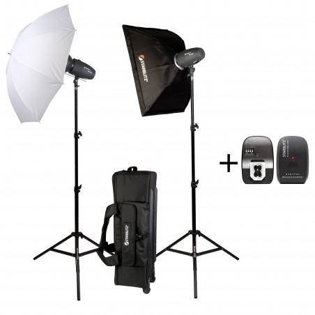 SHARK200KIT Studio Kit 2x 200 watts second