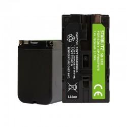 Bateria recarregável de iões de lítio compatível com Sony NP-F970 7.2v 7800mAh