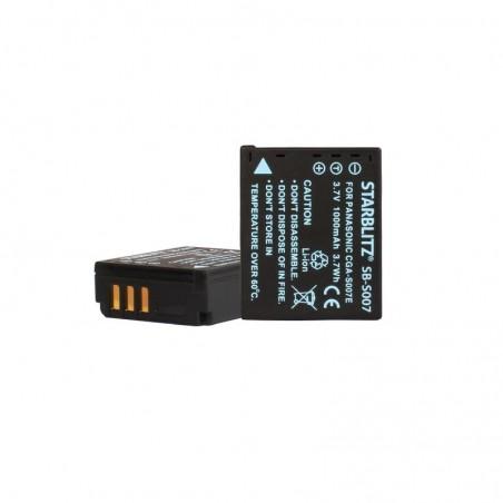 Bateria recarregável de iões de lítio compatível com Sony CGA-S007E DMW BCD10 3.7v 1000 mAh