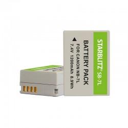 Compatible Canon NB-7L Batterie rechargeable Lithium-ion