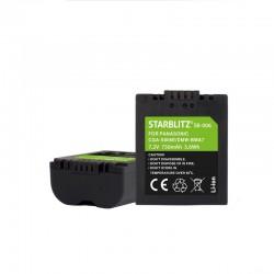 Bateria recargable de litio-ion equivalente PANASONIC CGA-S006E/DMW-BMA7 7.4v 1200 mAh