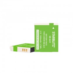 Rechargeable Lithium-ion Battery to replace Canon NB 6L 3.7v 1000 mAh
