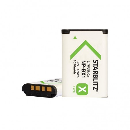Bateria recargable de litio-ion equivalente Sony BX1