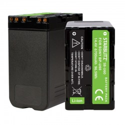 Bateria recargable de litio-ion equivalente Sony BP U60