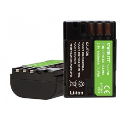 Bateria recargable de litio-ion equivalente Pentax LI90