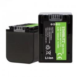 Batterie rechargeable vidéo compatible Sony NP-FV70 Lithium-ion