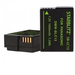 Compatible Panasonic DMW-BL12 Batterie rechargeable Lithium-ion