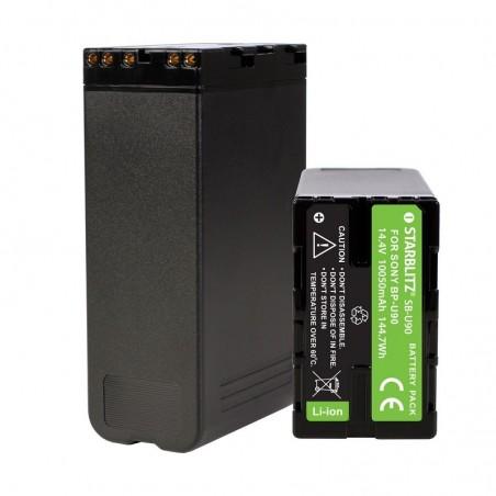Bateria recarregável iões de lítio compatível com Sony BP U90