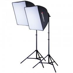 SKITBULB60 Kit Eclairage Lumière Continue Photo Vidéo