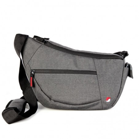 ABERDEEN 30 Heather gray shoulder bag for mirrorless camera