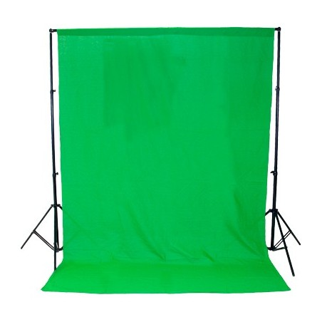 Kit Studio Background + Paper roll Green ChromaKey 3 x 3 m