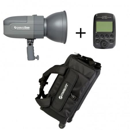 ASPIC400ETTL Kit de iluminação autónoma para câmaras Canon