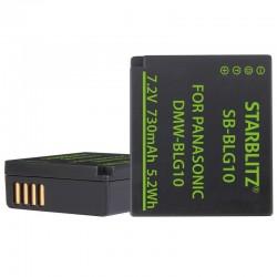 Batterie compatible Panasonic DMW-BLG10