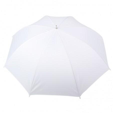 Parapluie blanc translucide diffuseur lumière 90cm SUMB90W