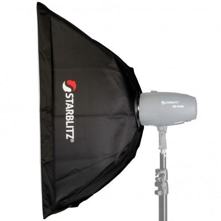 Caixa de luz retangular 50x70cm com adaptador Bowens