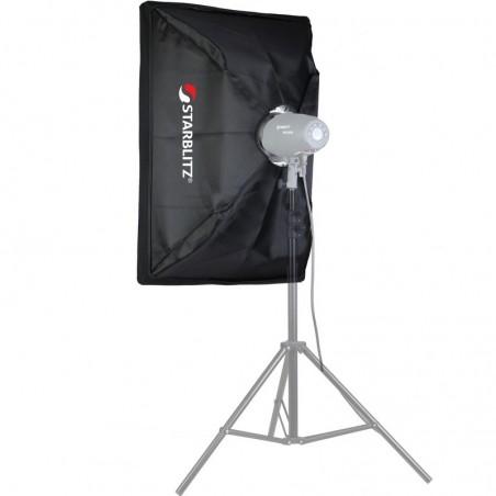 Caixa de luz retangular 60x90cm com adaptador Bowens