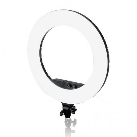 Luz LED de anillo continuo 480 LED, 60W, 3600 lúmenes, 3000-6500K