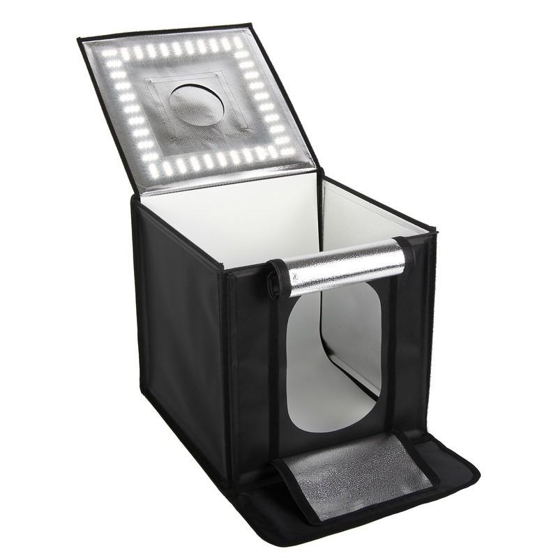 Cube de prise de vues dim. 40cm3 avec 440 LED