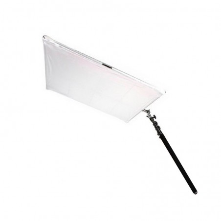 Reflector 110 cm for outdoor and indoor use with telescopic arm
