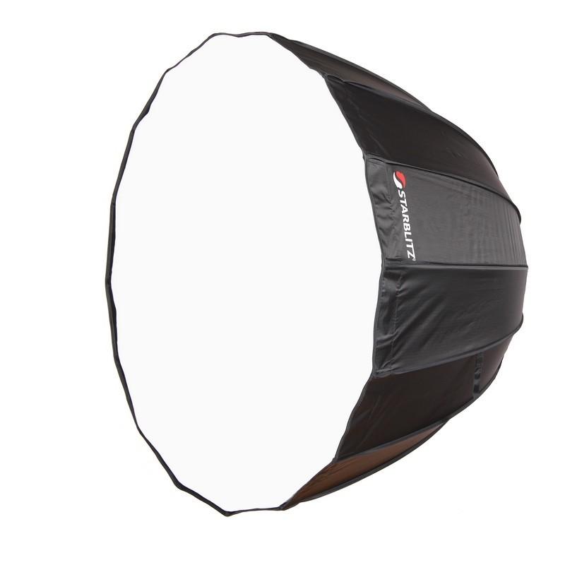 Boîte à lumière montage rapide 90cm profonde parabolique