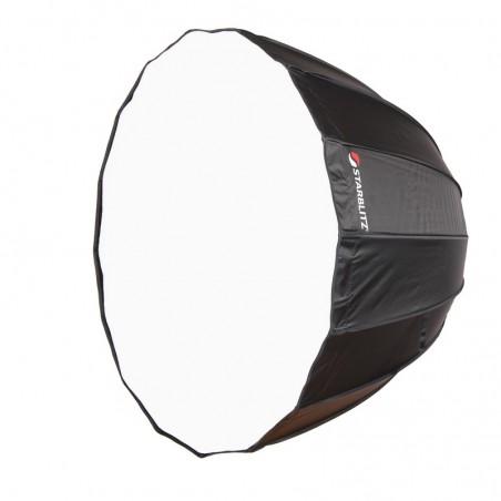 Caixa de luz parabólica montagem rápida 90cm com adaptador Bowens