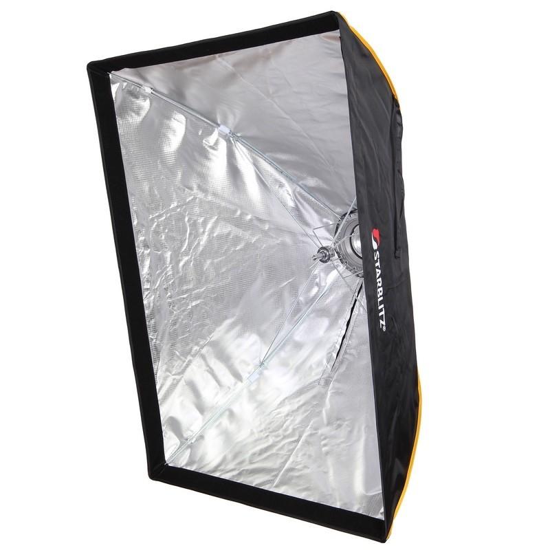 Boîte à lumière rectangulaire 70 x 100cm monture Bowens montage rapide