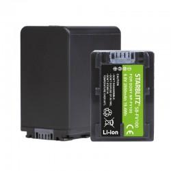 Bateria recarregável de iões de lítio compatível com Sony NP-FV100 6.8v 3900 mAh