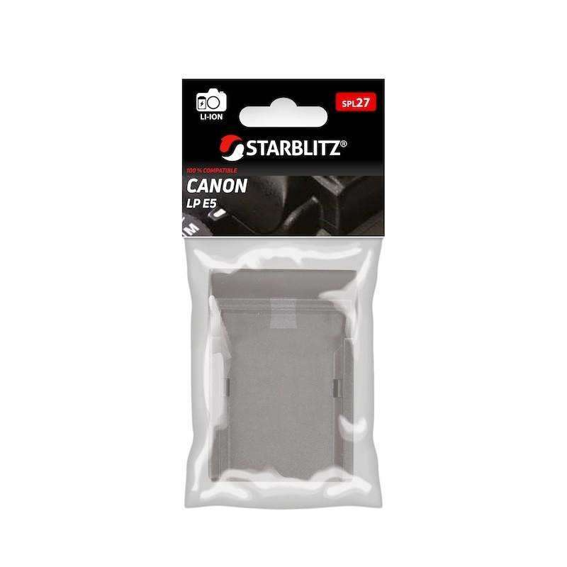Plaque de charge pour batterie Starblitz SB-E5 / Canon LP E5