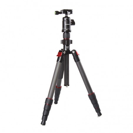 5 sections carbon travel tripod