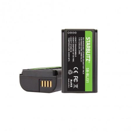 Batterie compatible PANASONIC DMW-BLJ31 Lithium-ion